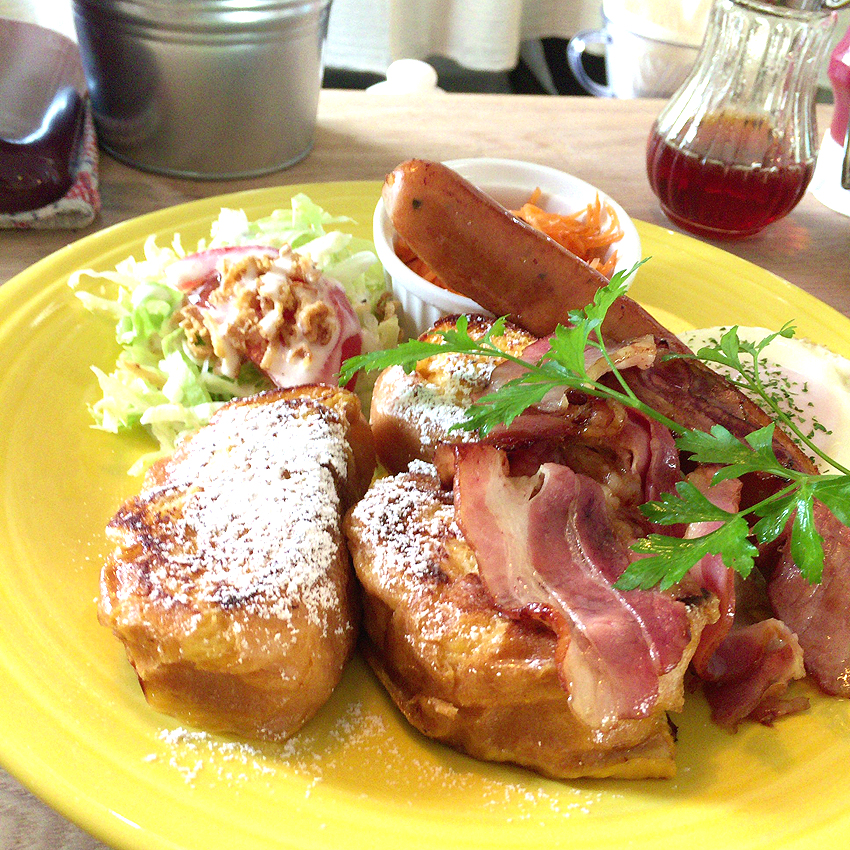 french toast & coffee Mikke〈ミッケ〉